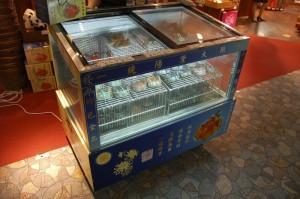 Koeling voor een tax-free winkeltje in Shanghai Airport