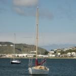 Evans Bay, op zeeniveau