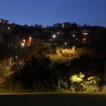 Heuvel bij de universiteit