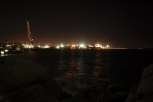 Aan de haven