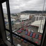 Uitzicht vanaf mijn appartement