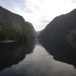 Dag 5: vervolg Doubtful Sound cruise; Manapouri - Haast
