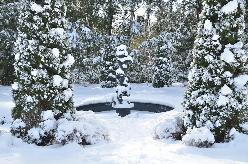 Fontein in Prospect Garden